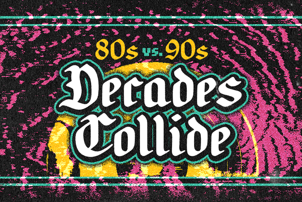 Decades Collide RSVP List