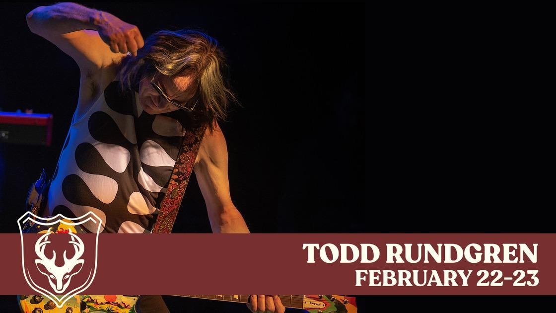 Todd Rundgren Multi-Show Events Header Image