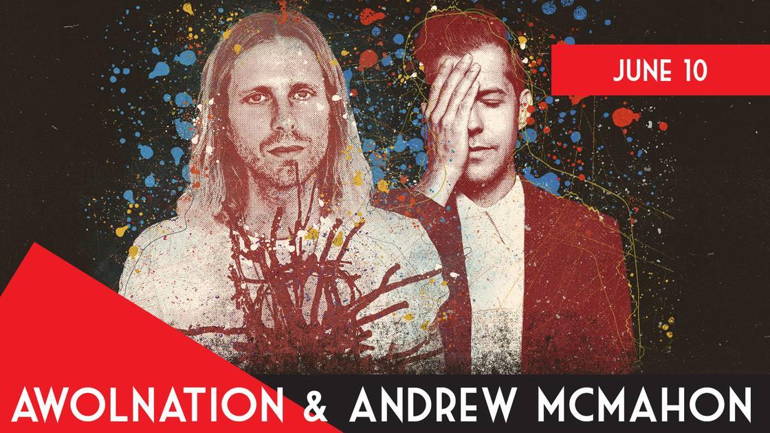 AWOLNATION:TheLightningRidersTourwithAndrewMcMahon