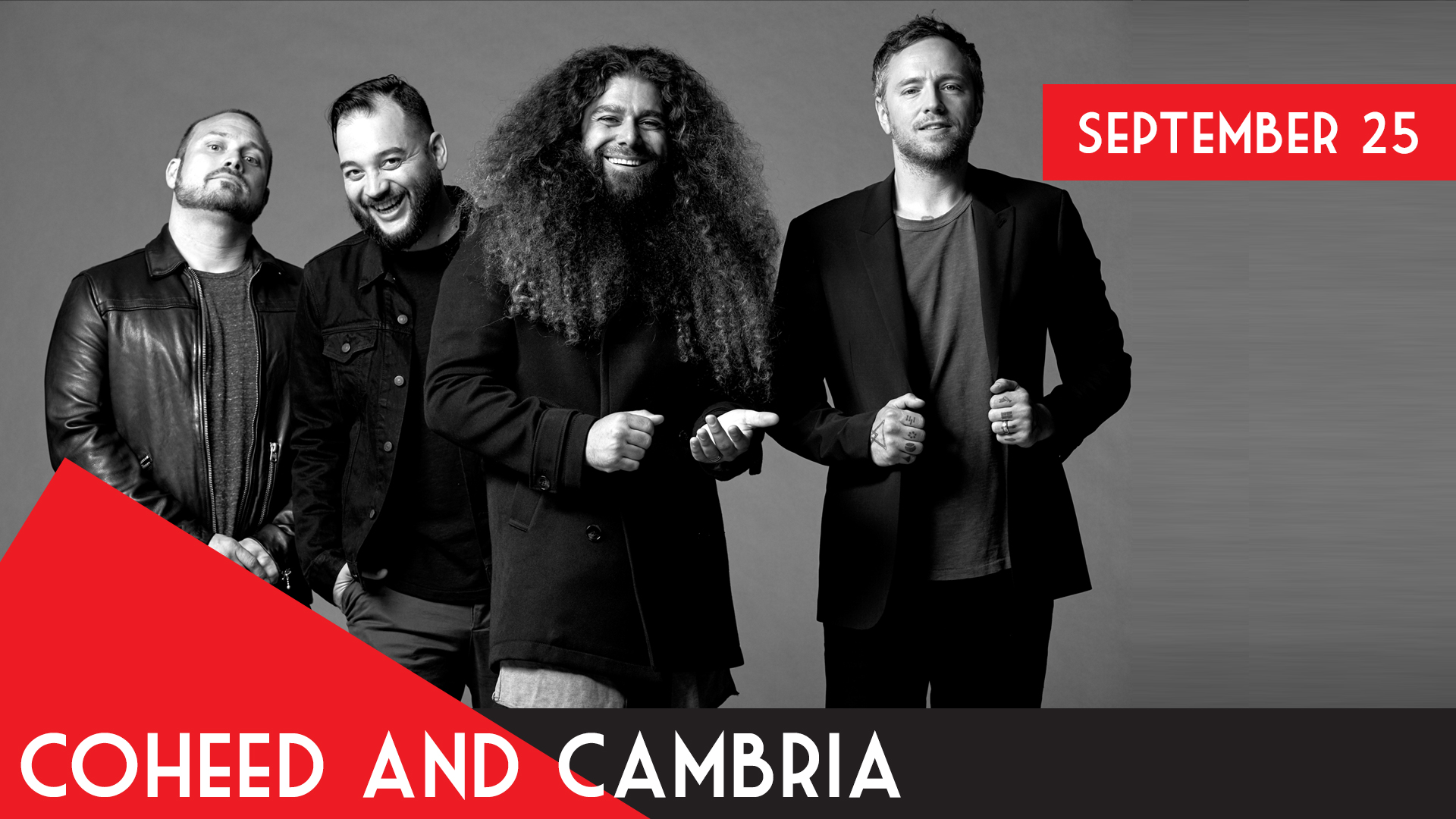 Coheed and Cambria - Neverender: NWFT w/Special Guest Chon