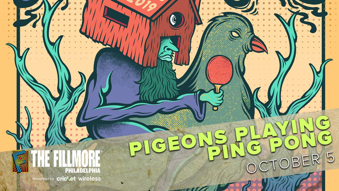 PigeonsPlayingPingPongw/Aqueous