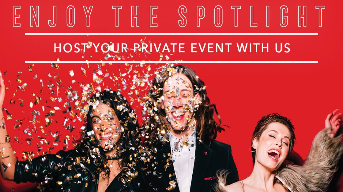 Host Your Private Event with Us