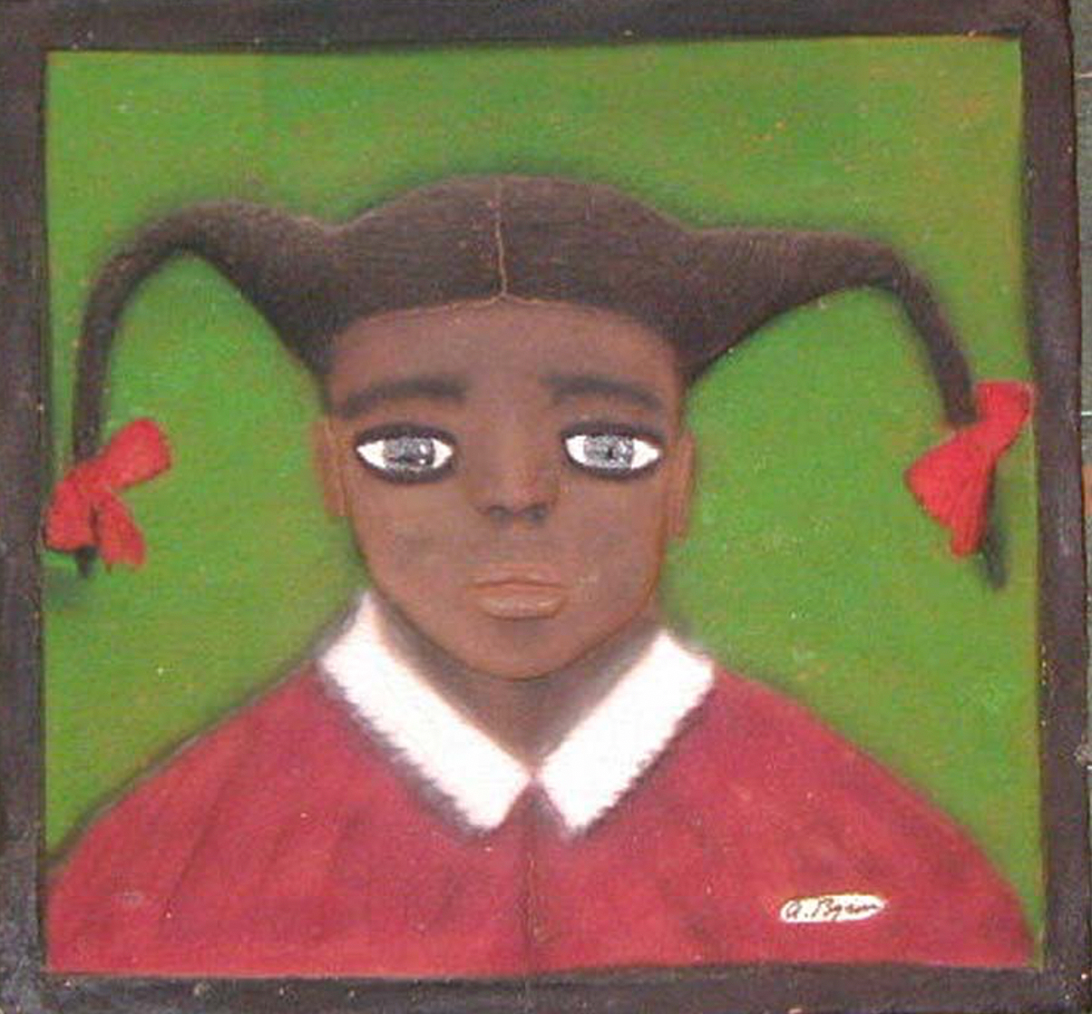 painting titled buffy by archie brown