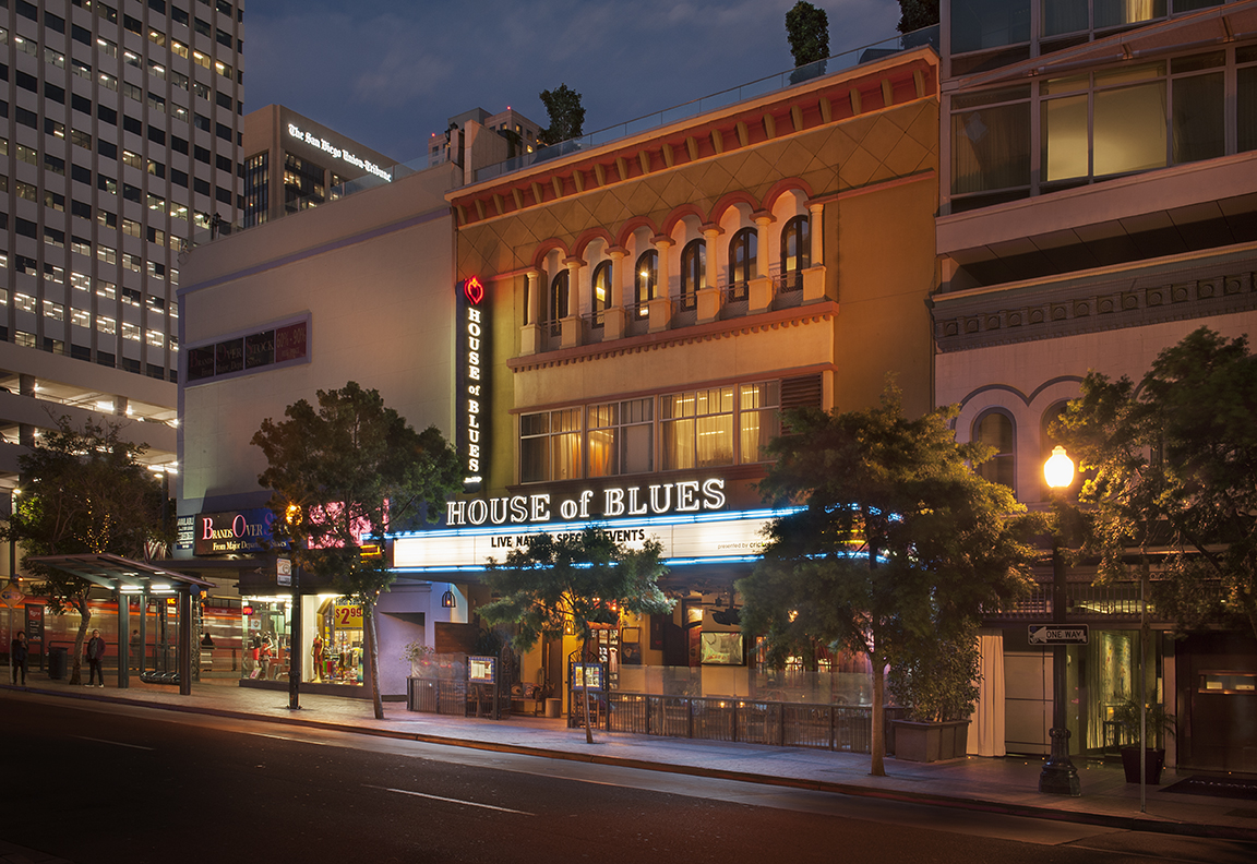 House of Blues San Diego Exterior