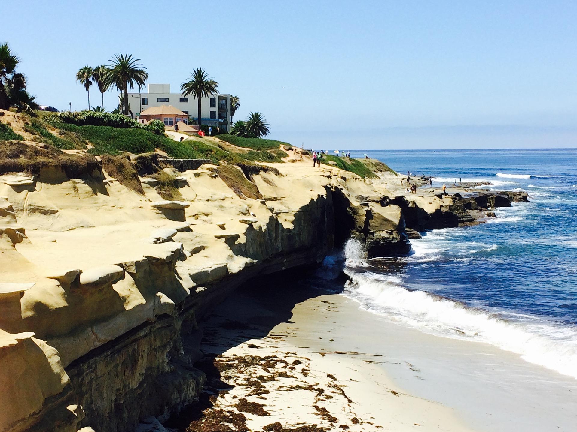 La Jolla San Diego Coast Line