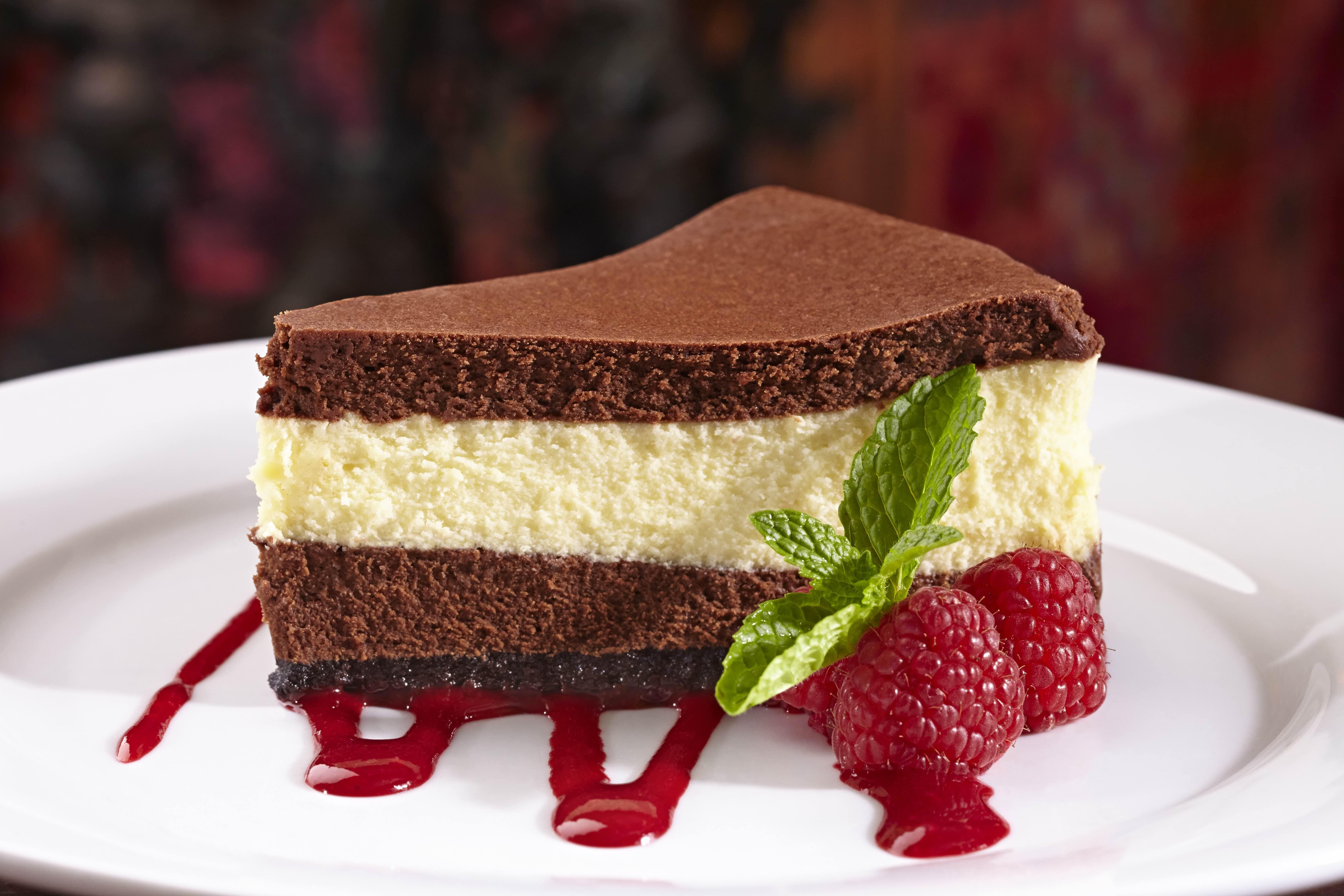 Triple Chocolate Cheesecake Horizontal