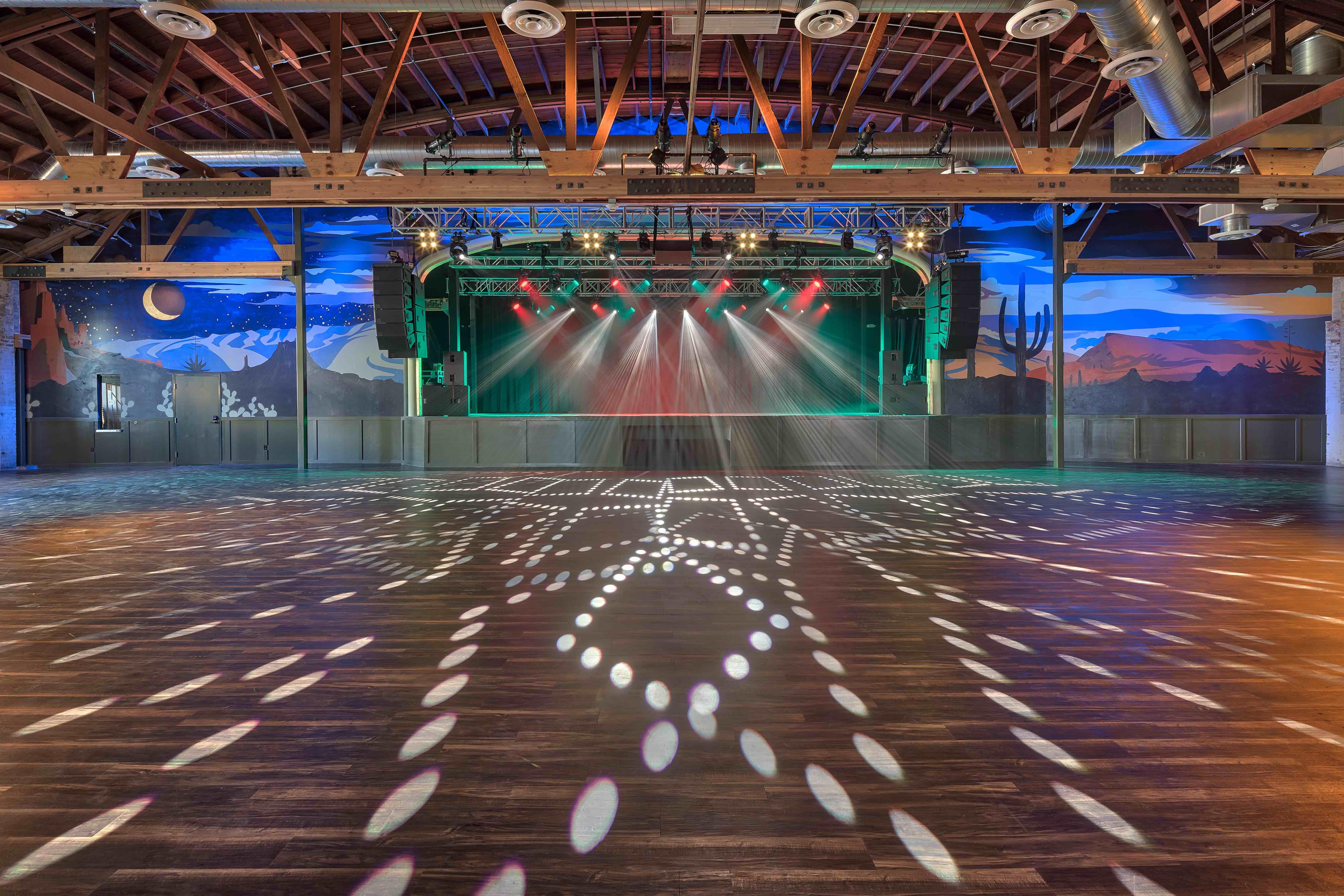 Van Buren dance floor