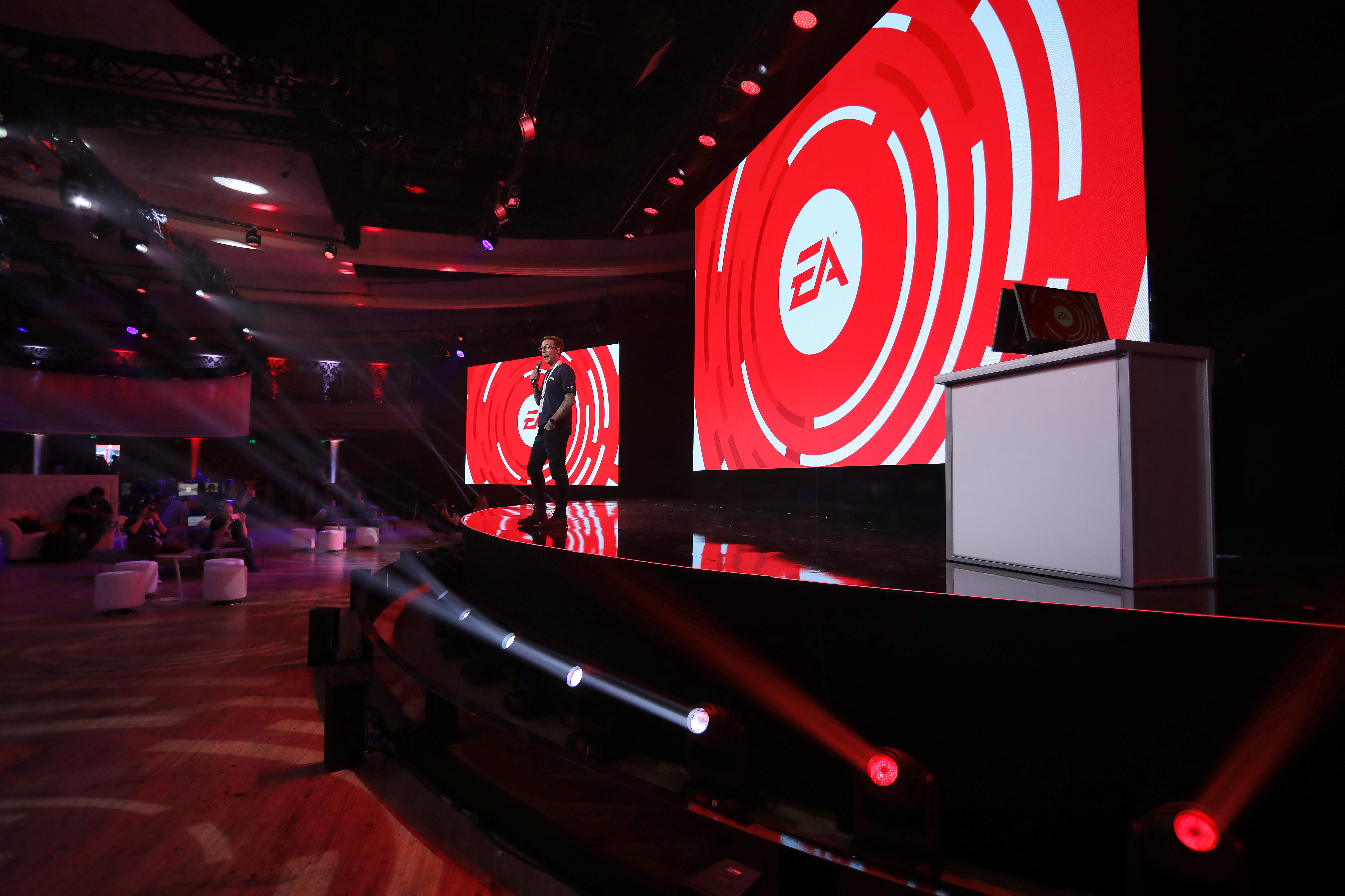 ea gaming tournament at live nation special events hollywood palladium