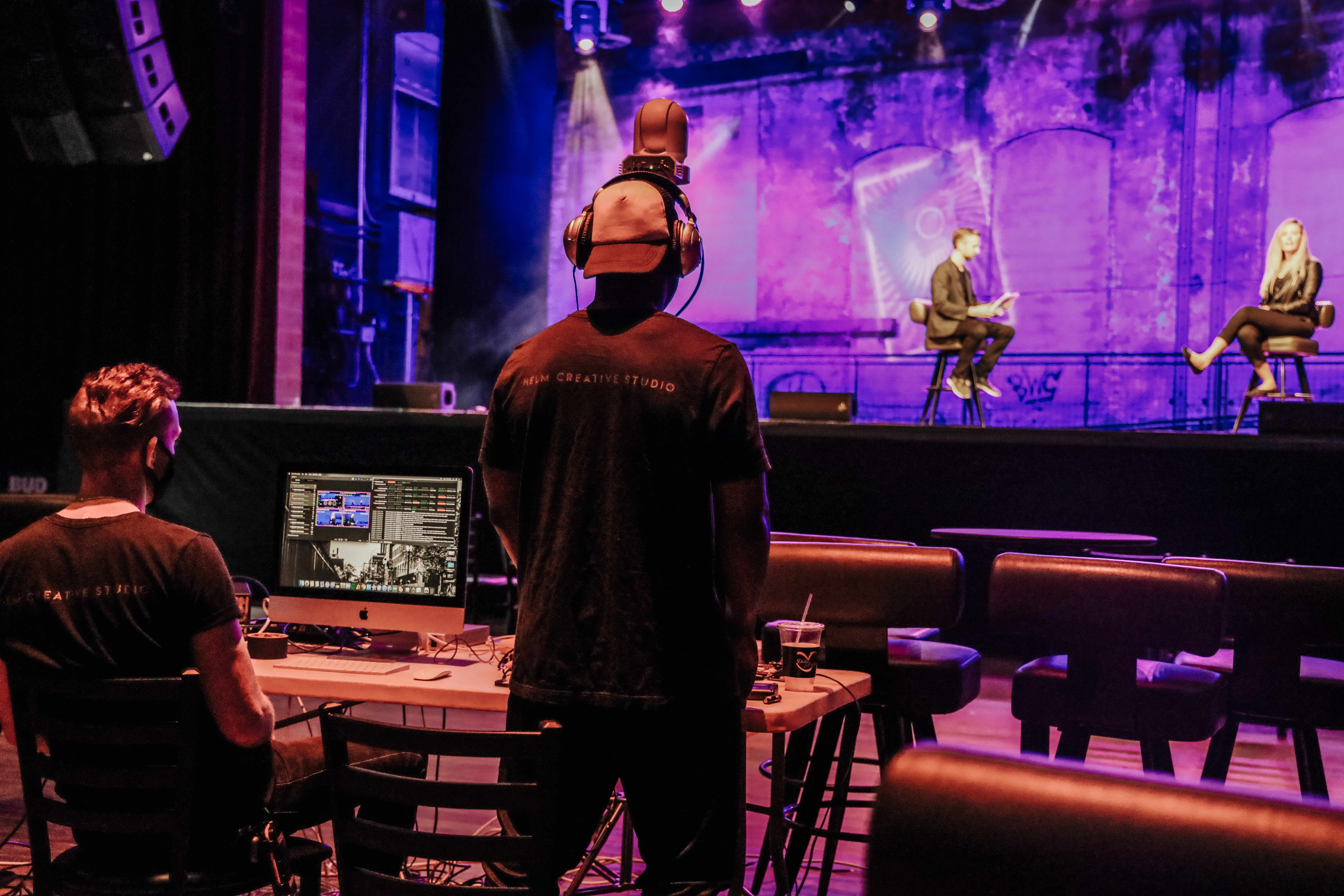 live nation special events crew redefining virtual events panelists stage the fillmore philadelphia