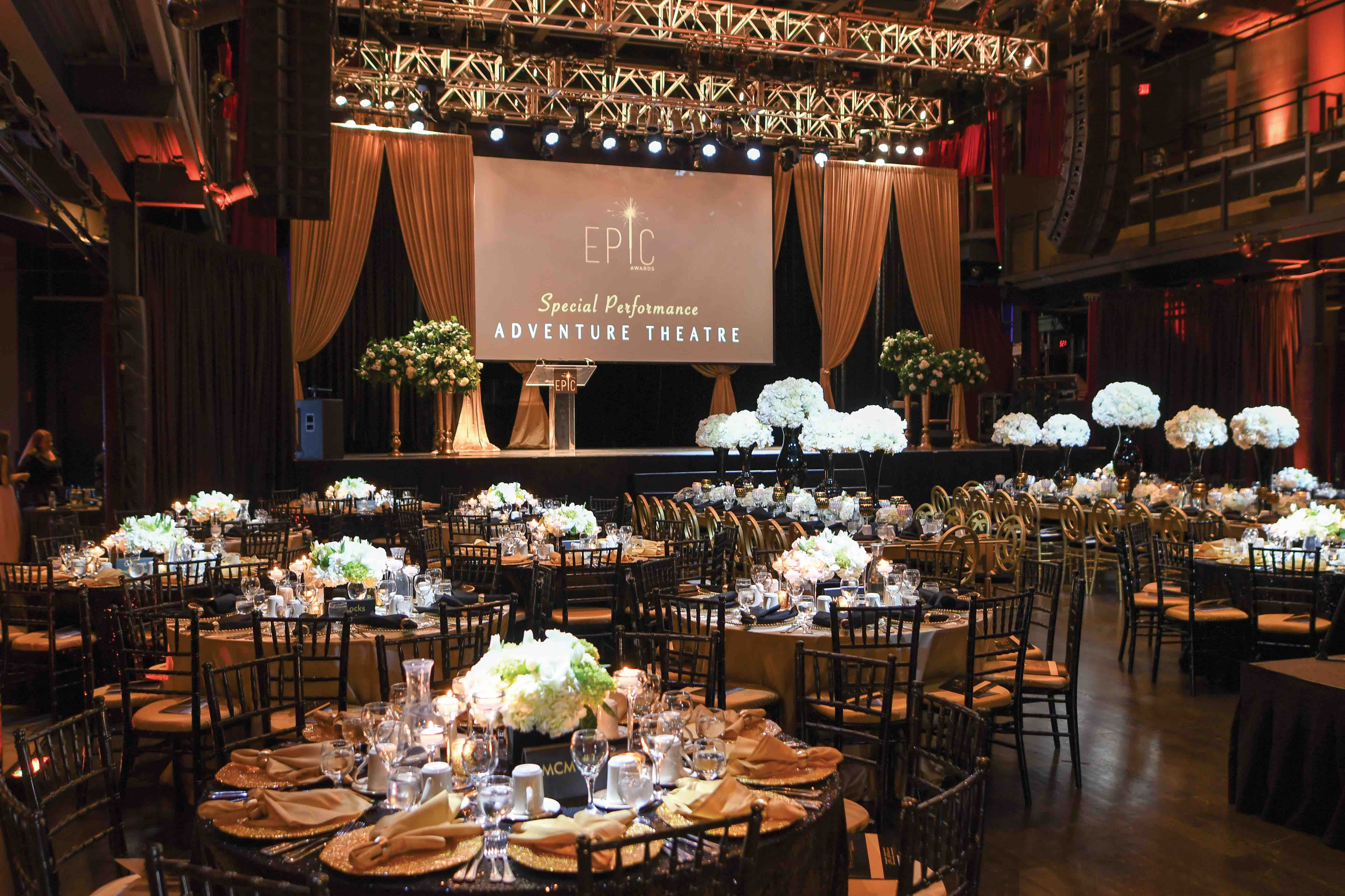 DECORATED SPECIAL EVENT SPACE