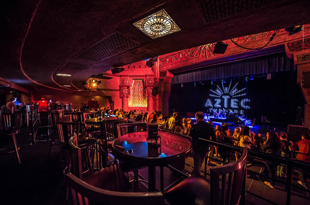 The Aztec Theatre Live Nation Special Events