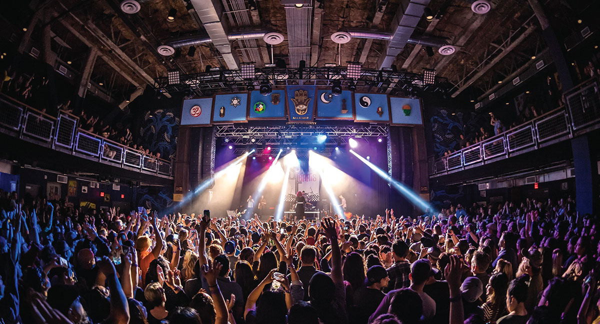 House of blues anaheim live nation special events - House of blues anaheim garden walk ...