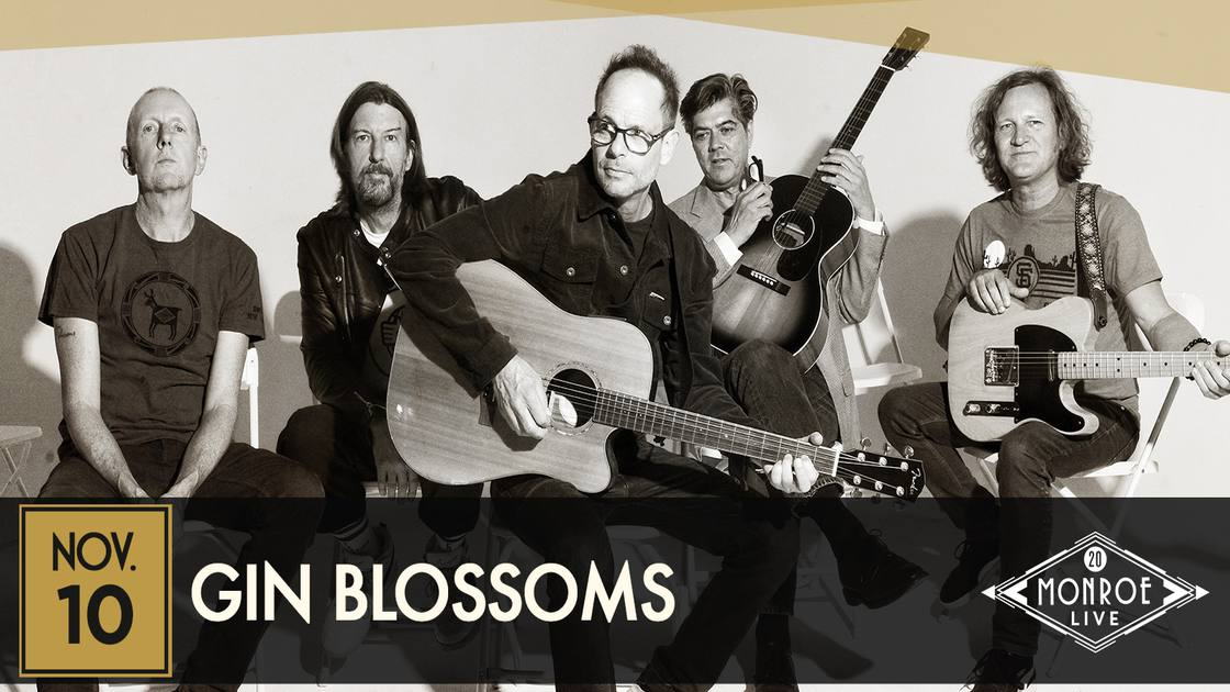 *RESCHEDULED* GIN BLOSSOMS