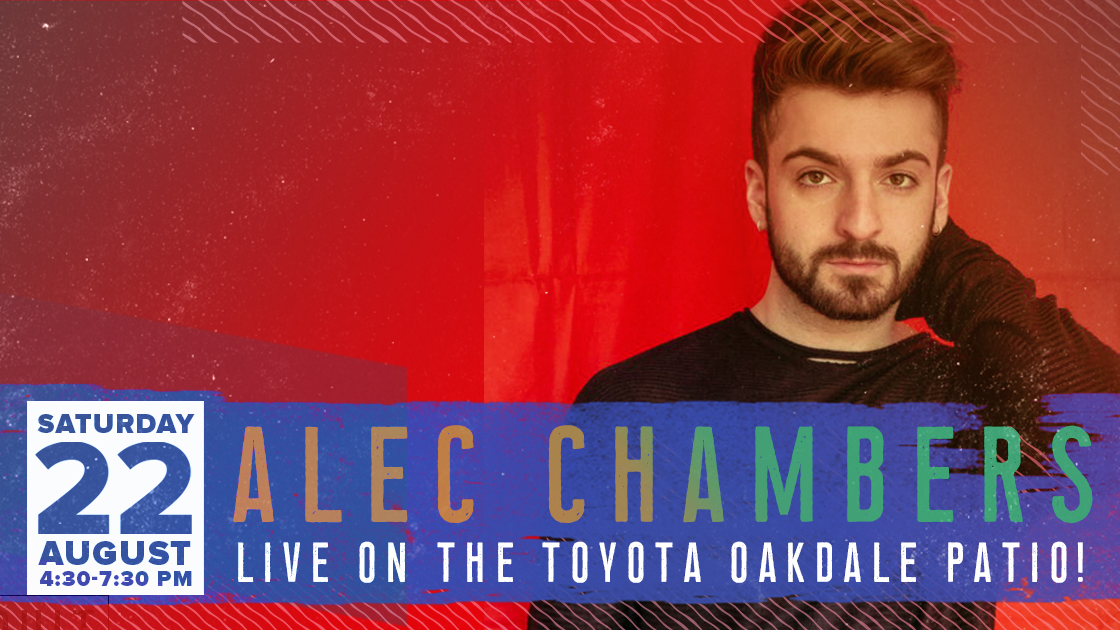 Alec Chambers Live On The Oakdale Patio