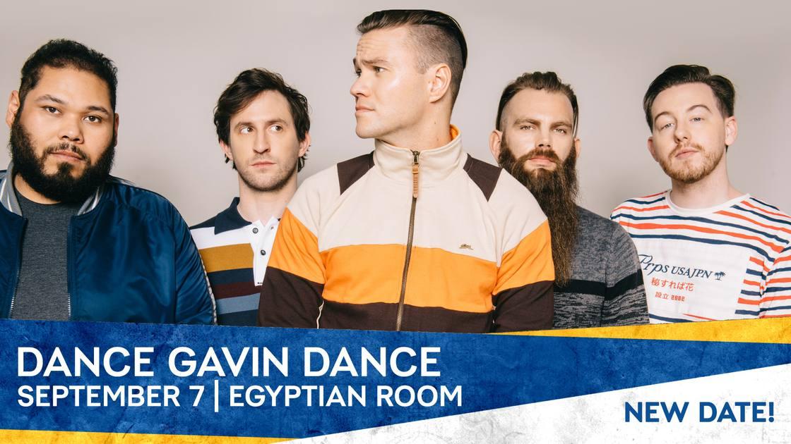 Dance Gavin Dance - *Rescheduled Date*