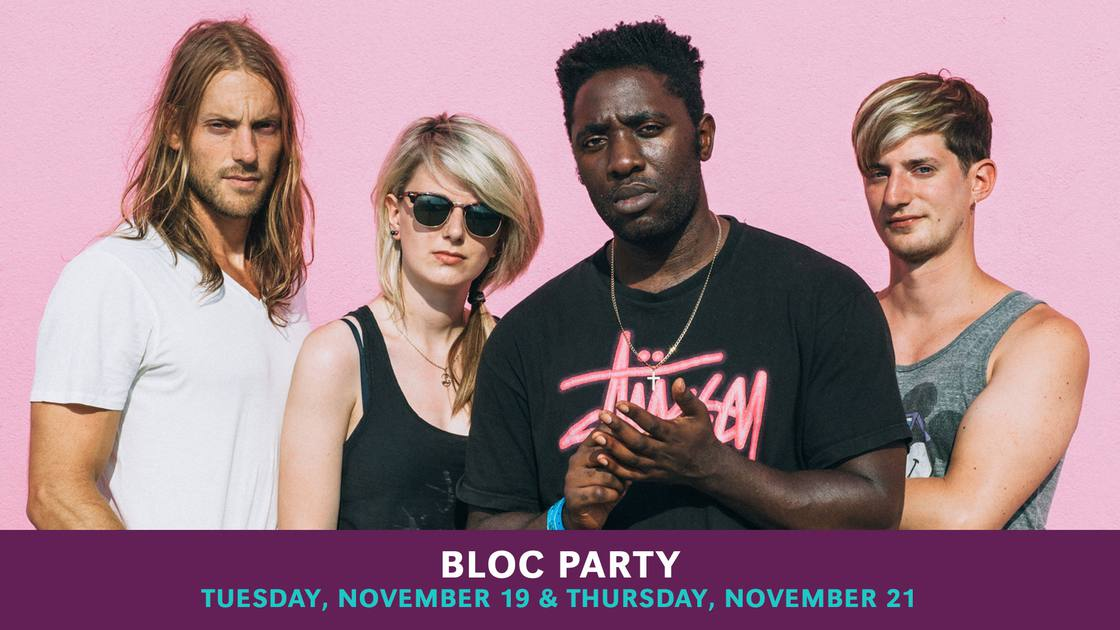 Bloc Party Performing Silent Alarm