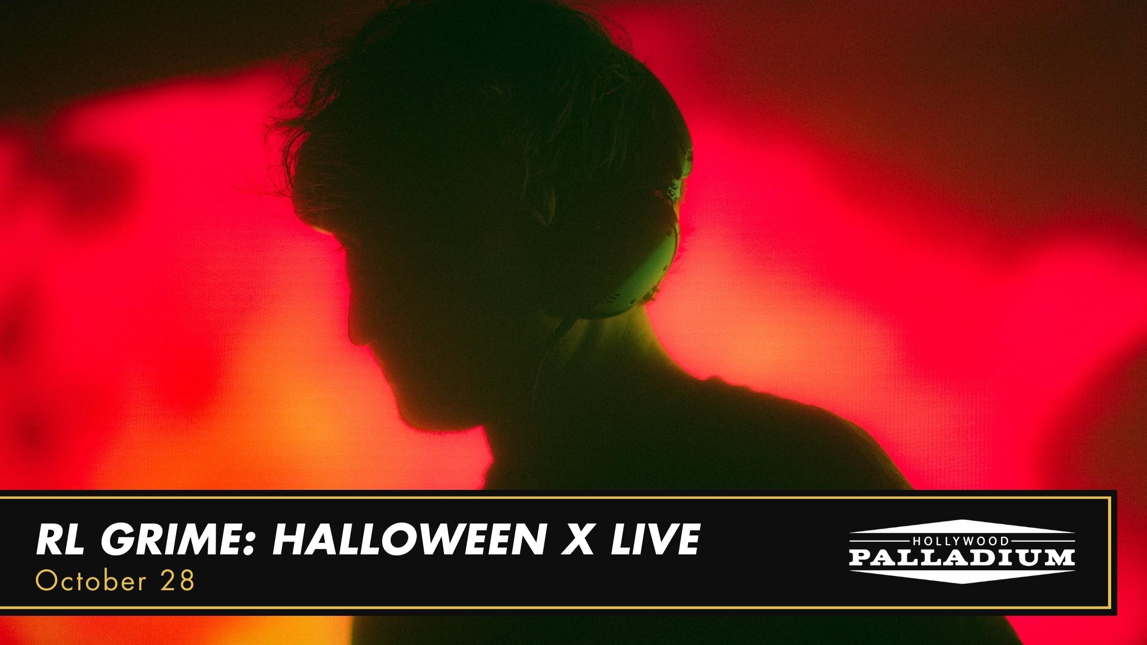 RL Grime: Halloween X Live At The Palladium