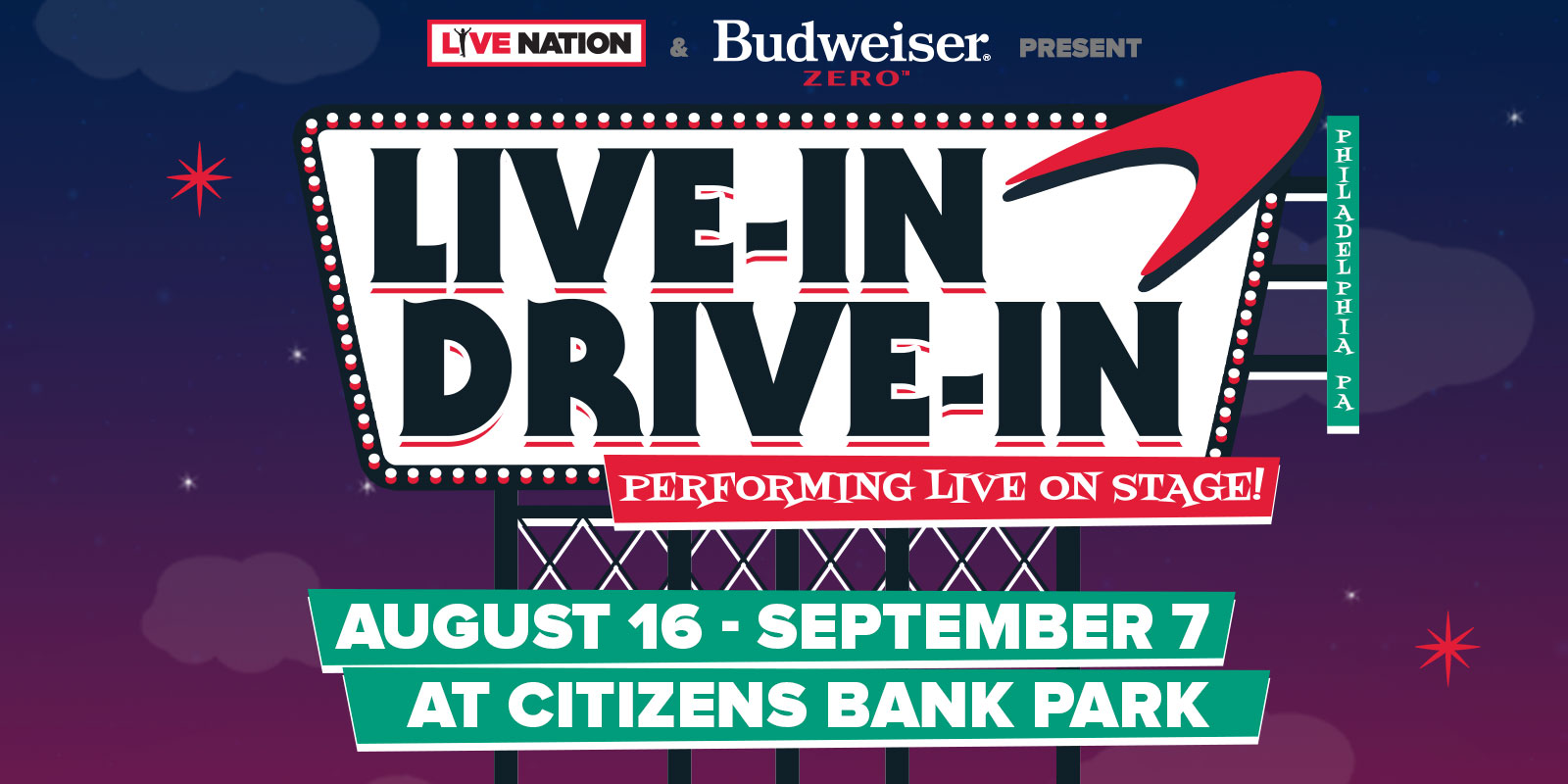 Live-In Drive-In Concert Series