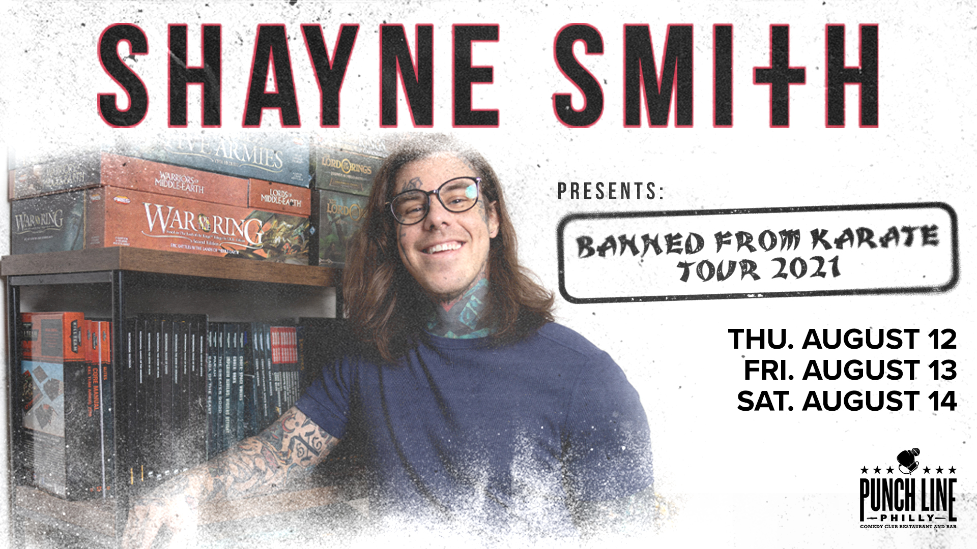 Shayne Smith: Banned From Karate Tour 2021