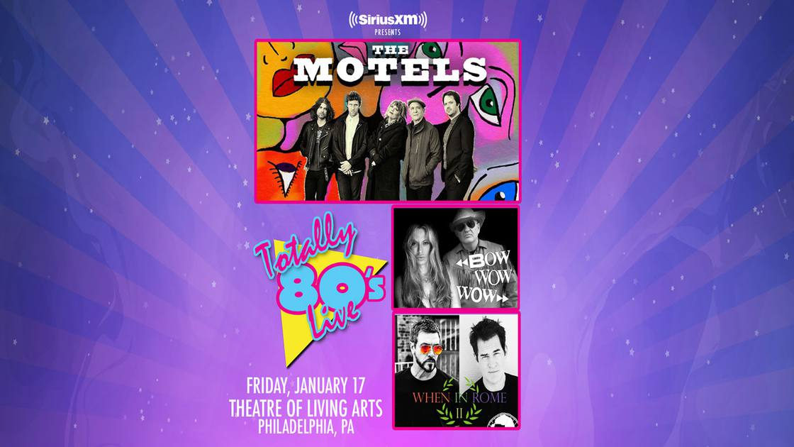 SiriusXMPresentsTotally80'sLivew/TheMotels