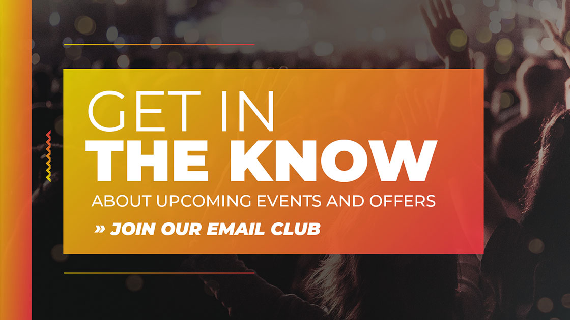Get in the Know - Join our email club