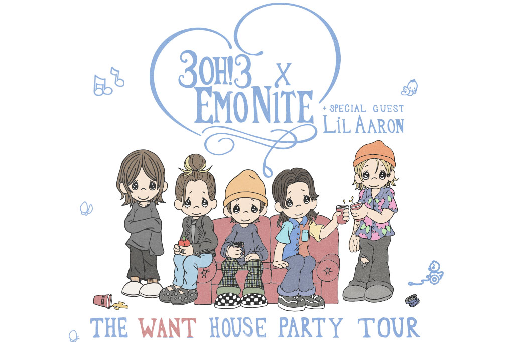 3OH!3 & EMO NITE: THE WANT HOUSE PARTY TOUR