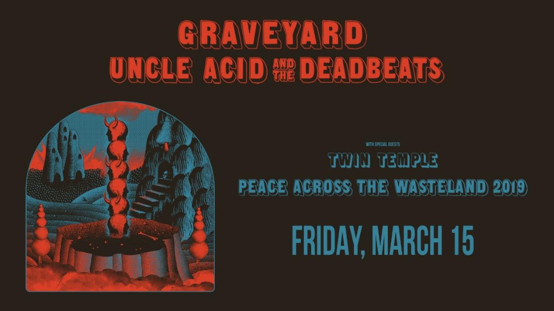 GraveyardandUncleAcid-PeaceAcrossTheWasteland