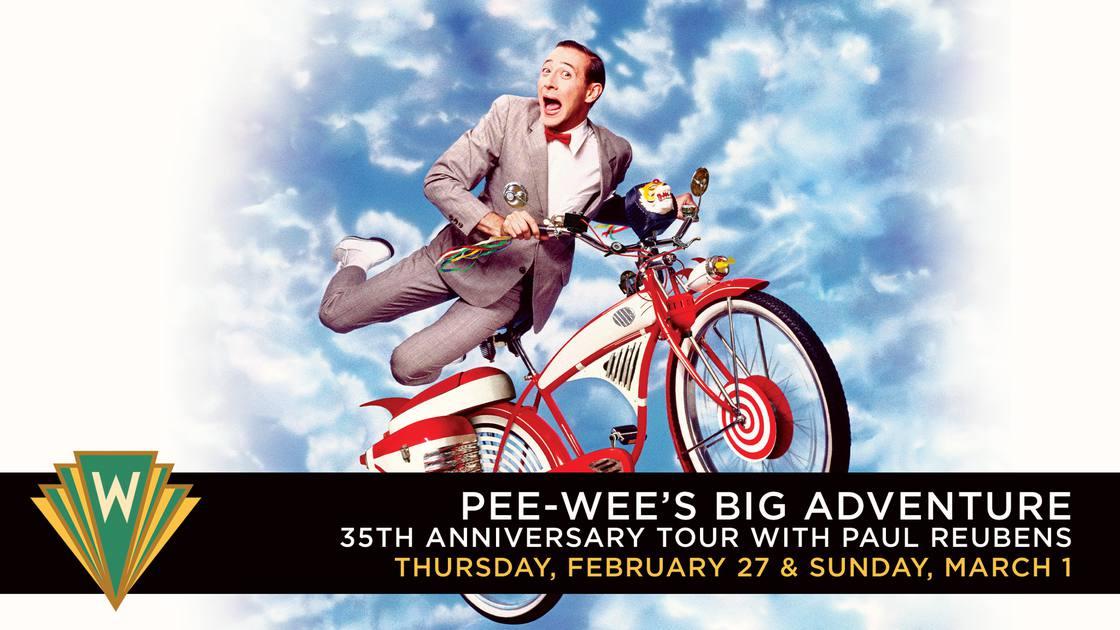 Pee-wee'sBigAdventure35thAnniversaryTourwithPaulReubens