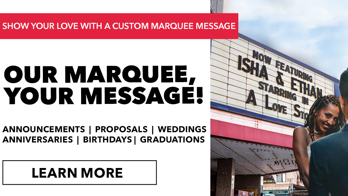 Our Marquee Your Message