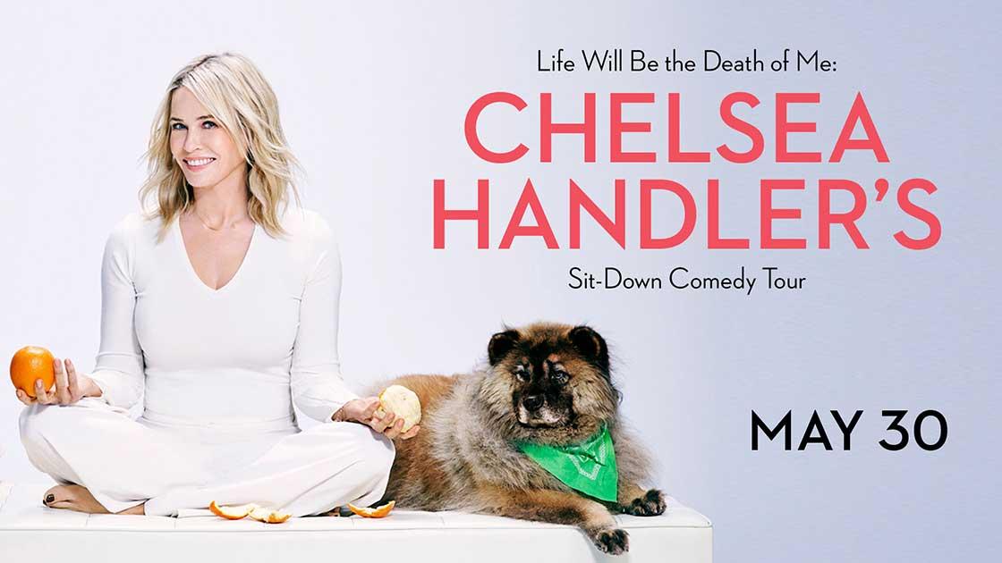 ChelseaHandler'sSit-DownComedyTour