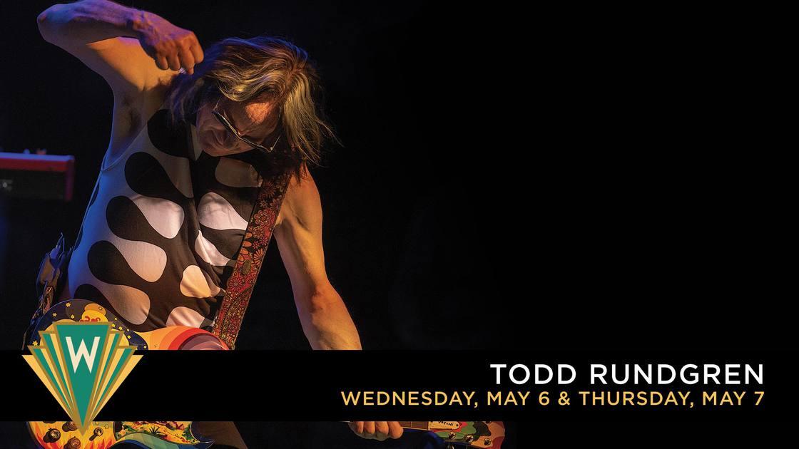The Wiltern Todd Rundgren
