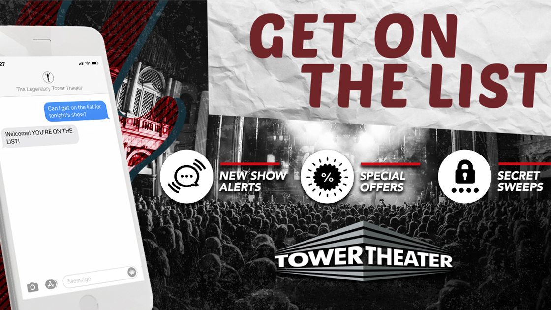Tower Theater SMS