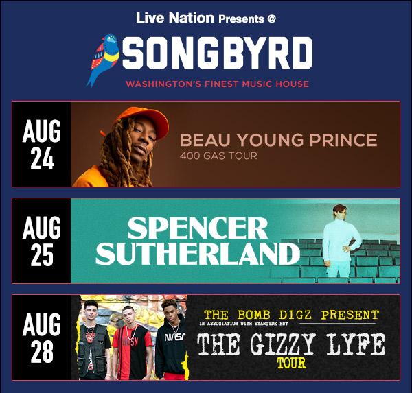 Songbyrd Venue Ad