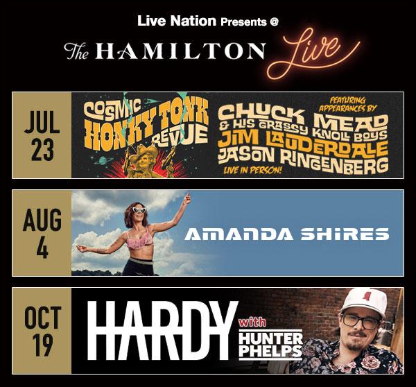 Hamilton Web Calendar