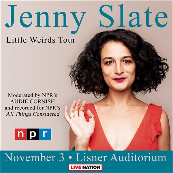 Jenny Slate - Little Weirds Tour