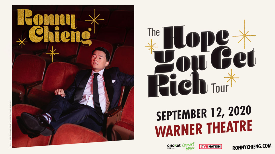 Ronny Chieng: The Hope You Get Rich Tour