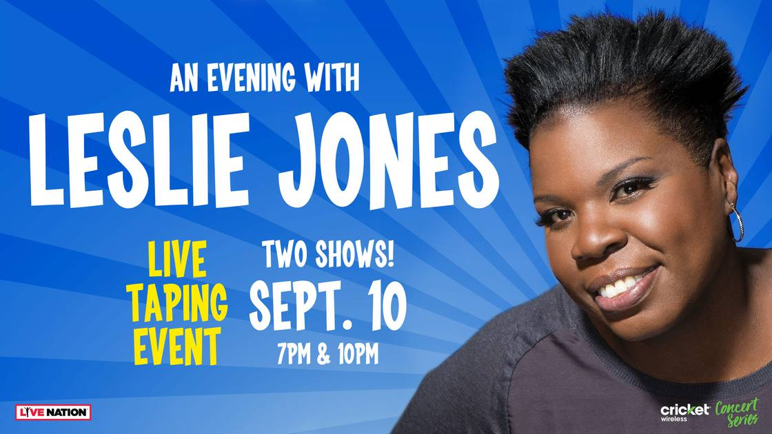 AnEveningWithLeslieJones-LateShow!