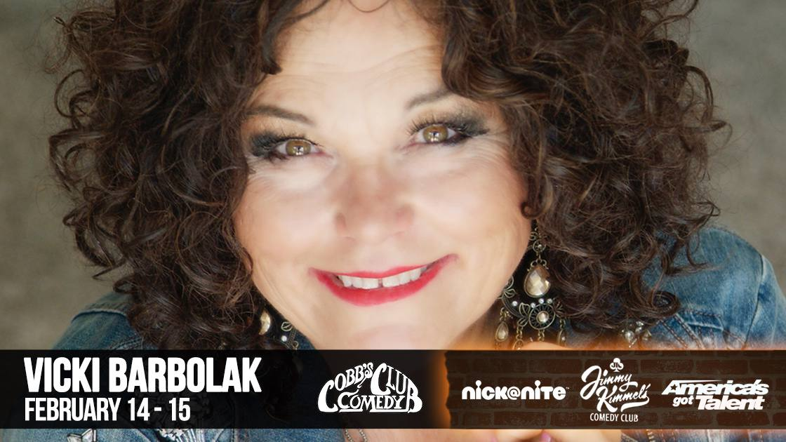 Cobb's Comedy Club Vicki Barbolak