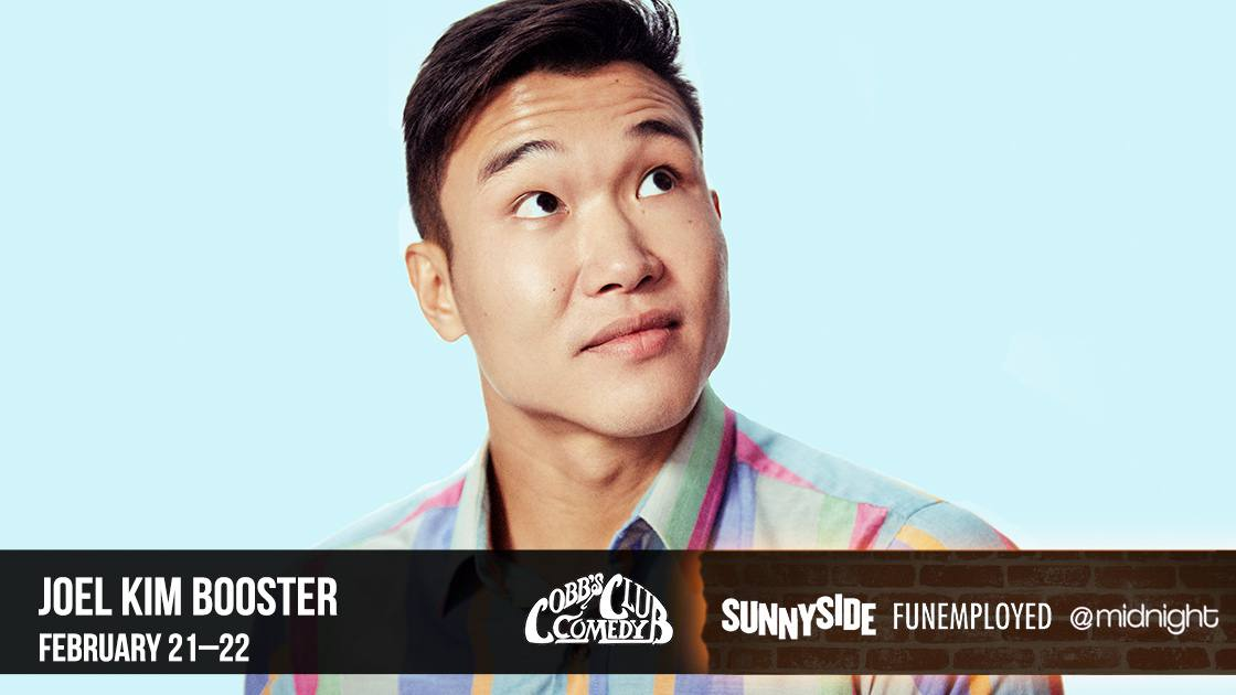 Cobbs Comedy Club Joel Kim Booster