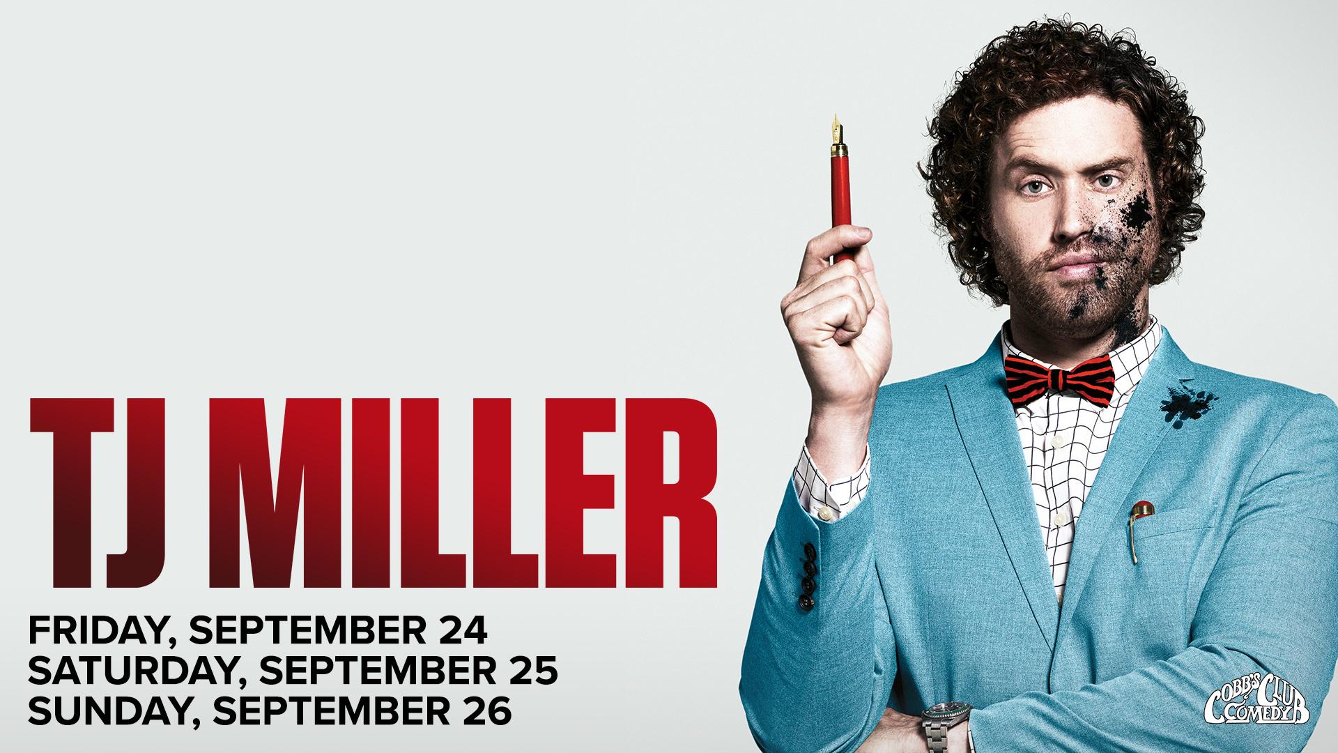 T.J. Miller: The Unkle Bulbous Tour