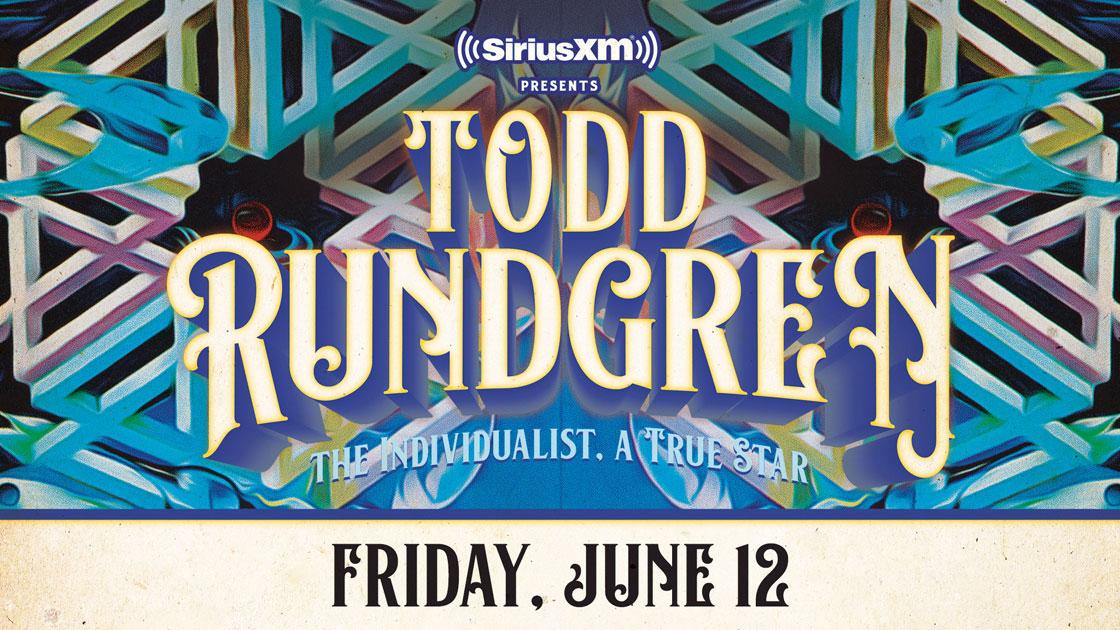 SiriusXMPresents:ToddRundgren-TheIndividualist,ATrueSta