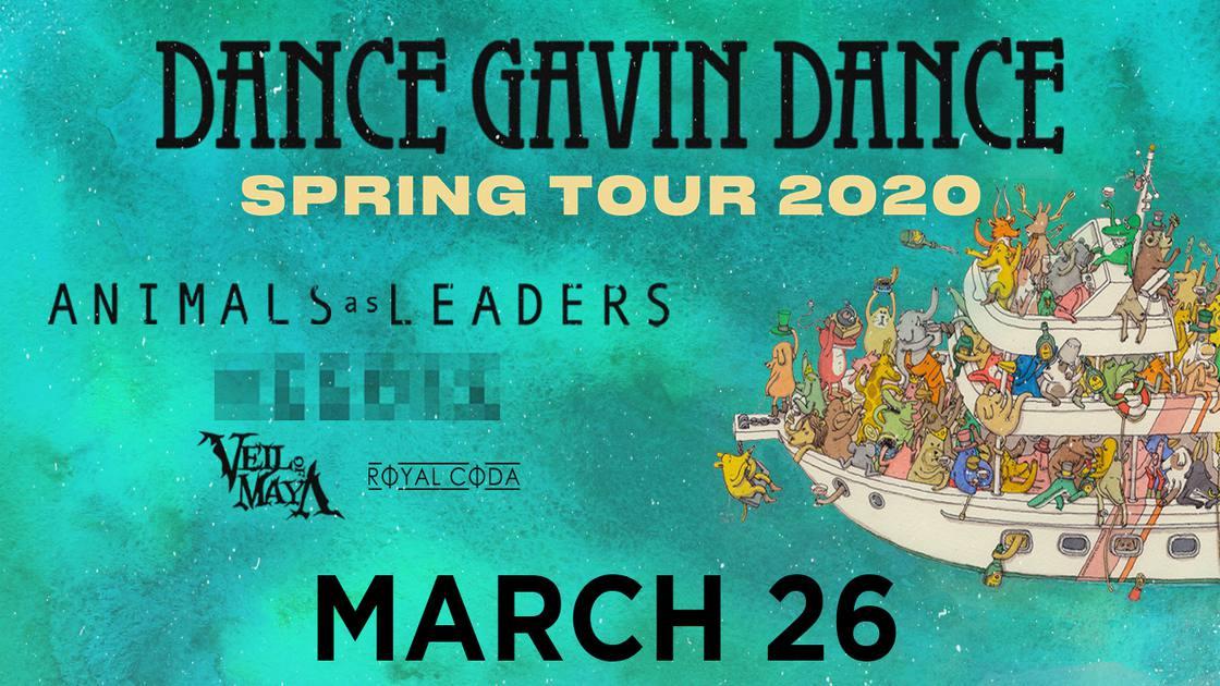 DanceGavinDance-SpringTour2020