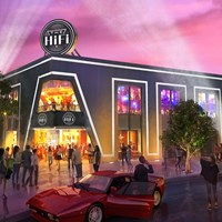 The HiFi Exterior Image