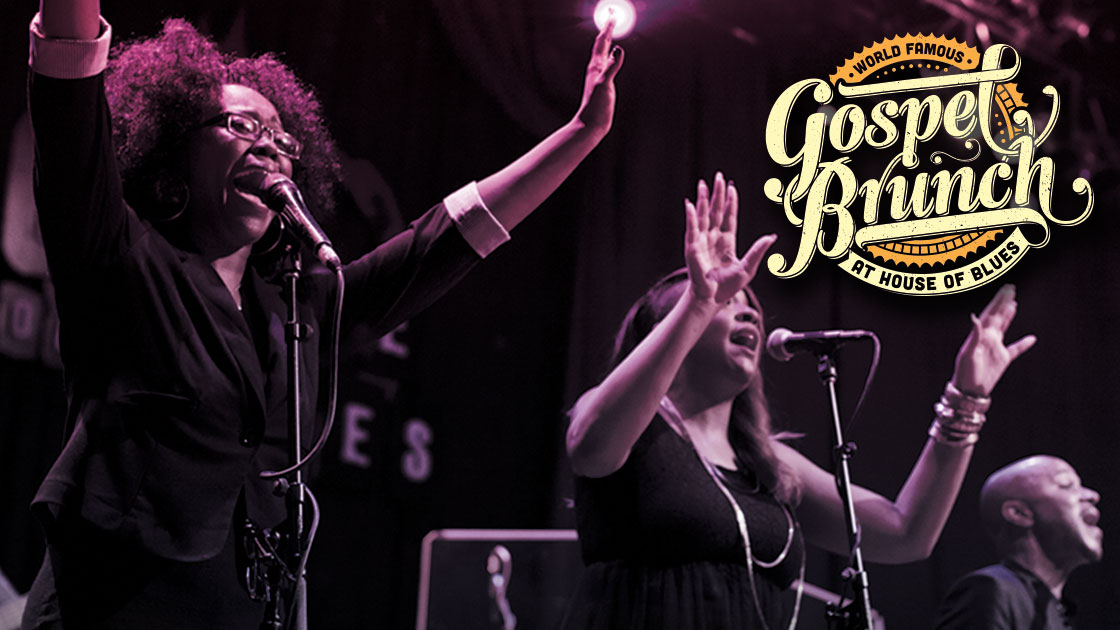 Gospel Brunch at House Of Blues - New Orleans tickets.