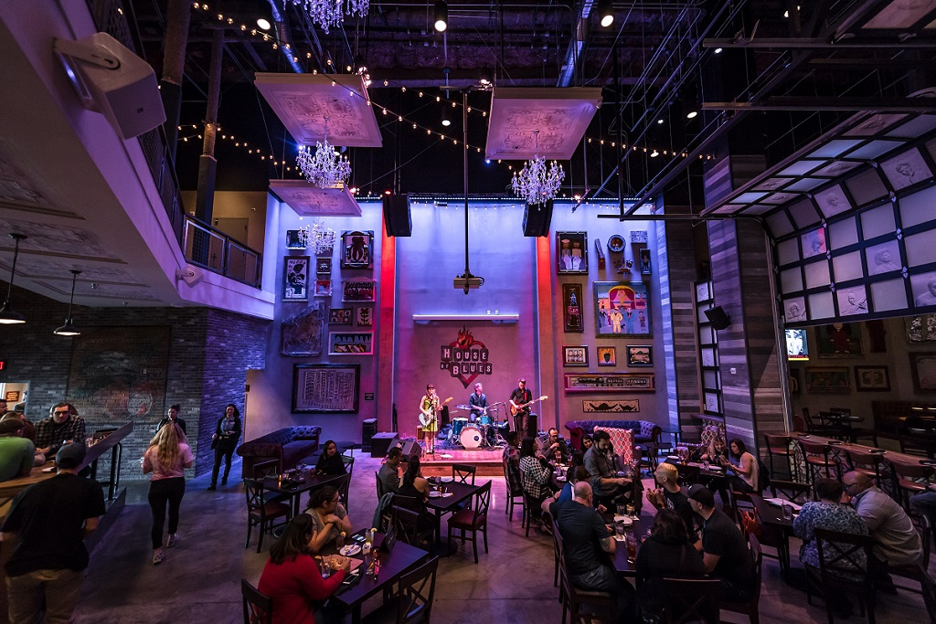 House Of Blues Foundation Room Locations