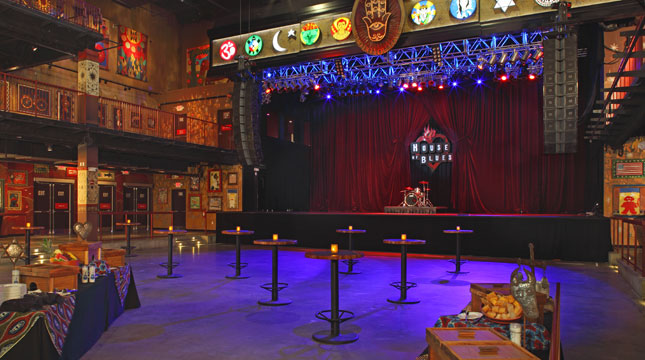 House of blues boston seating layout