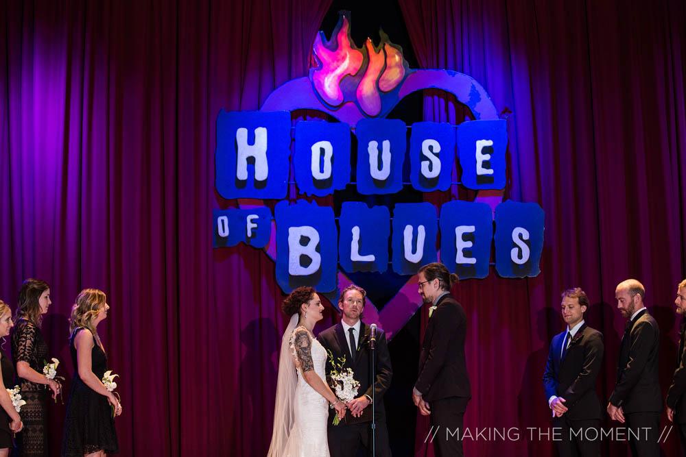 House Of Blues Cleveland Wedding