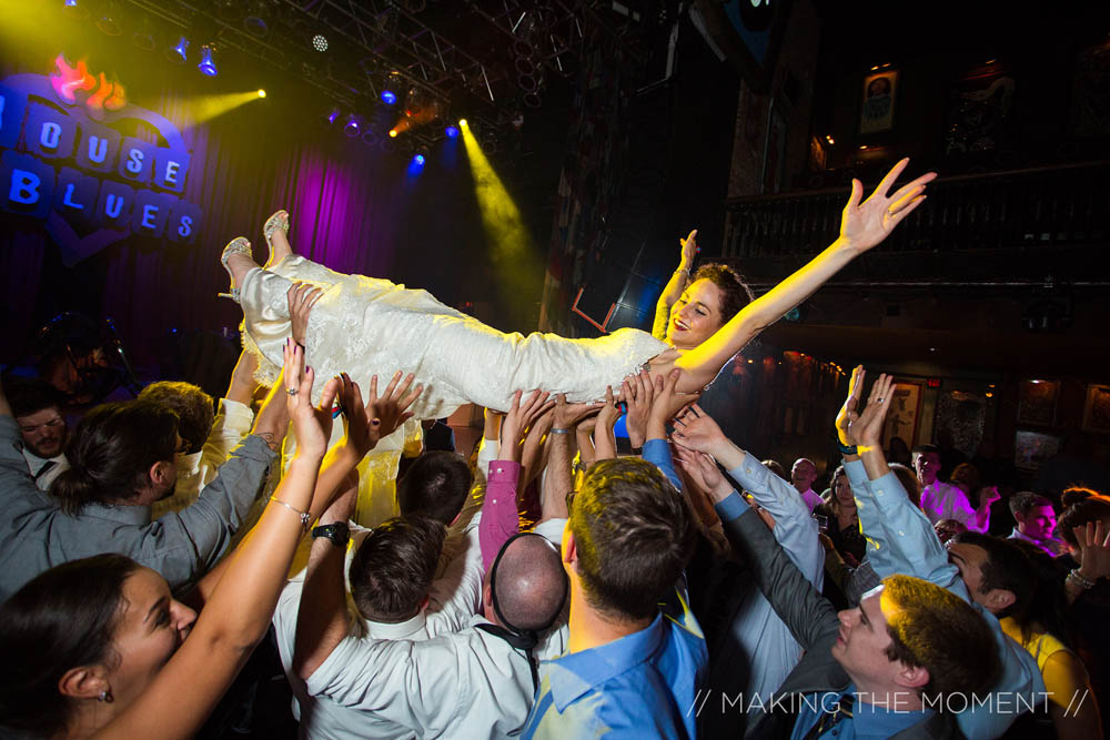 House of Blues Cleveland Wedding