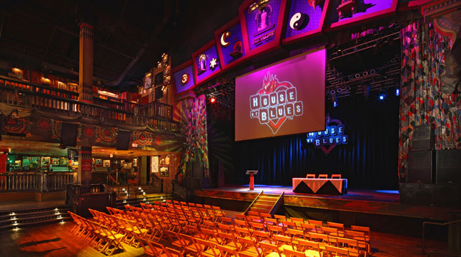 House of blues los angeles floor plan