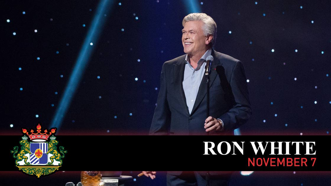 [NEW DATE] RON WHITE (Rescheduled from 3.21.20)